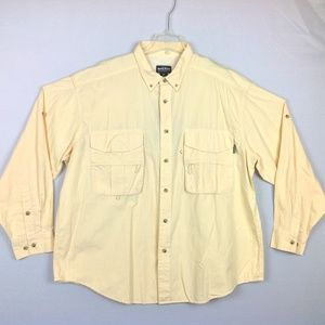 New with Flaw Woolrich  Vented Shirt Mens 2XL
